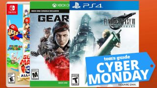 cyber monday video games