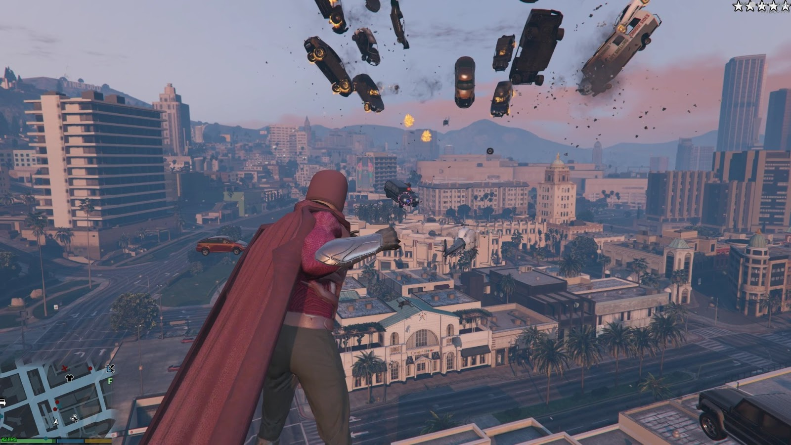 Magneto mod lets you do all the best Magneto things in GTA 5