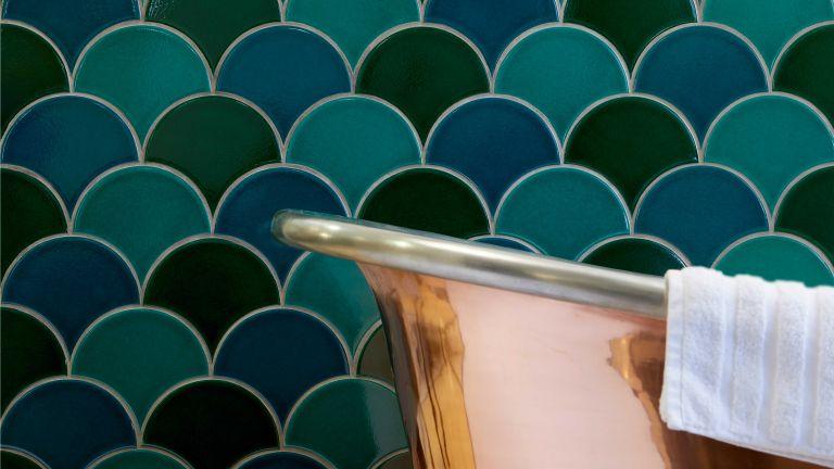 How to clean tiles: Marlborough Soho scallop tiles