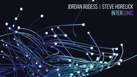 Jordan Rudess and Steve Horelick - Intersonic album artwork