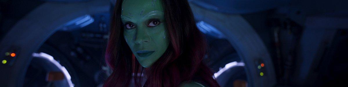 Gamora in Guardians of the Galaxy Vol 2