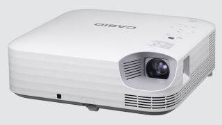 Suited for the presentation market, Casio's Superior Series of LampFree projectors offers brightness up to 4,000 lumens and can project large images of up to 300 inches.