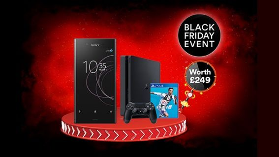 Black Friday alert: FREE PS4 and FIFA 19 with Sony Xperia XA2 deals from Virgin Mobile