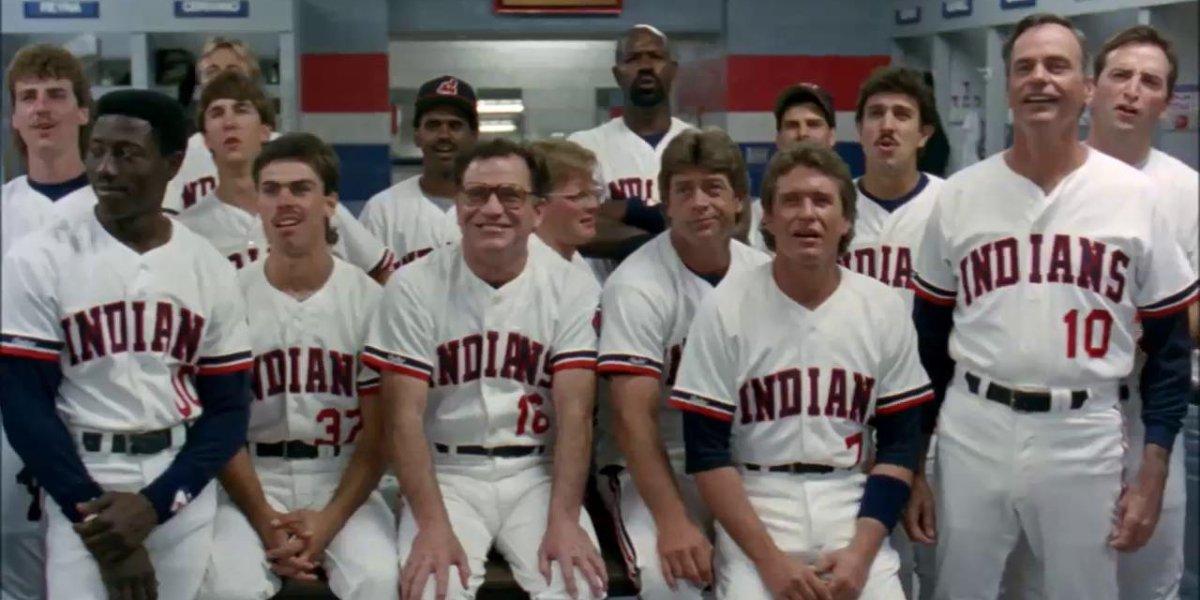 The Major League cast