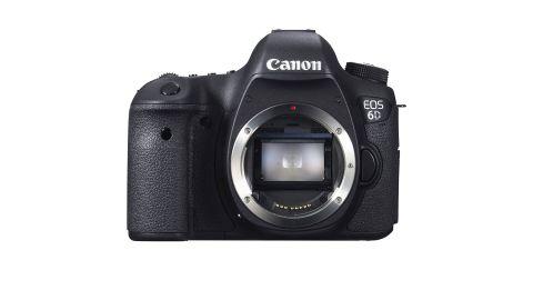 Canon EOS 6D review: image shows Canon EOS 6D camera
