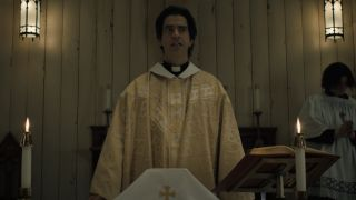 Hamish Linklater as Father Paul on Midnight Mass