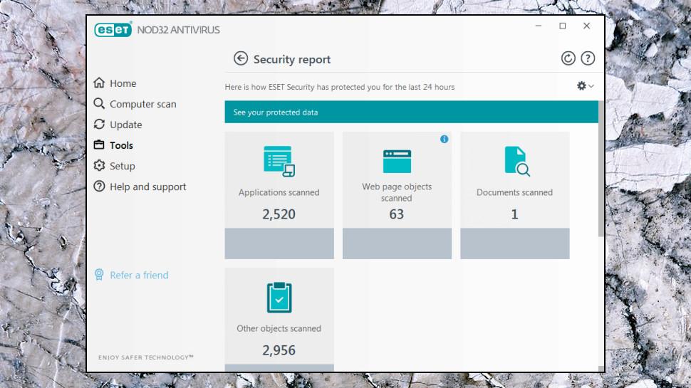 NOD32 Security Report