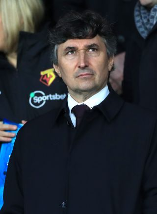Watford owner Gino Pozzo has promised a change in playing staff following the club's relegation.