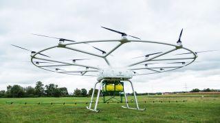 VoloDrone heavy-lift cargo drone John Deere.