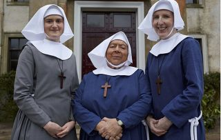 Miram Margoyles guest stars in the Call the Midwife Christmas Special