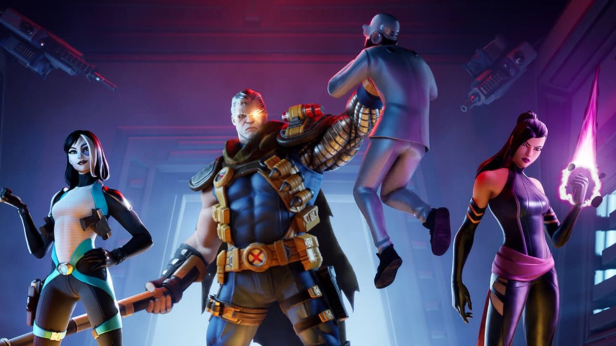 Fortnite item shop update: X-Force bundle drops in some classic Marvel heroes