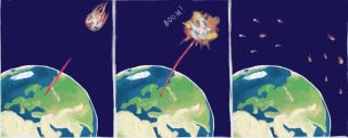 Asteroid destruction nukes