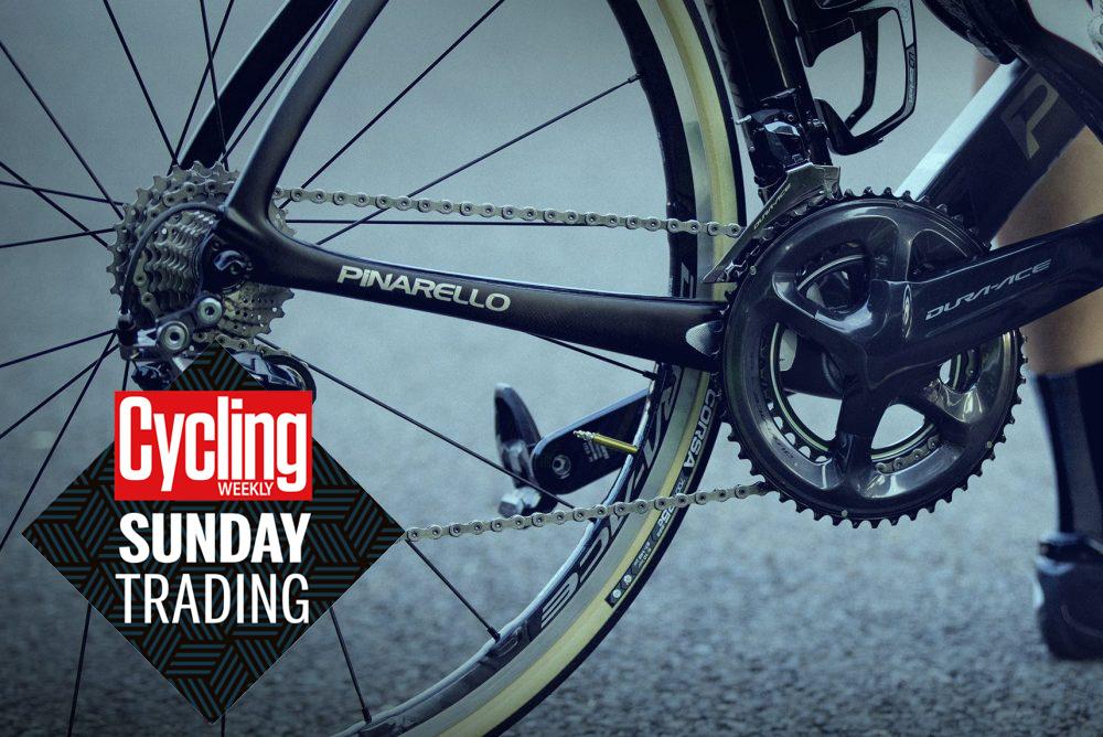 Sunday trading: £300 of Shimano Dura-Ace wheels and