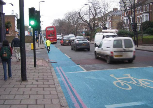 TfL cycle super highways