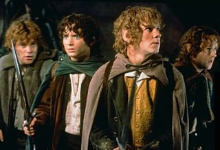 "Hobbits in the ""Lord of the Rings"" trilogy (2001-2003). Credit: New Line Cinema"
