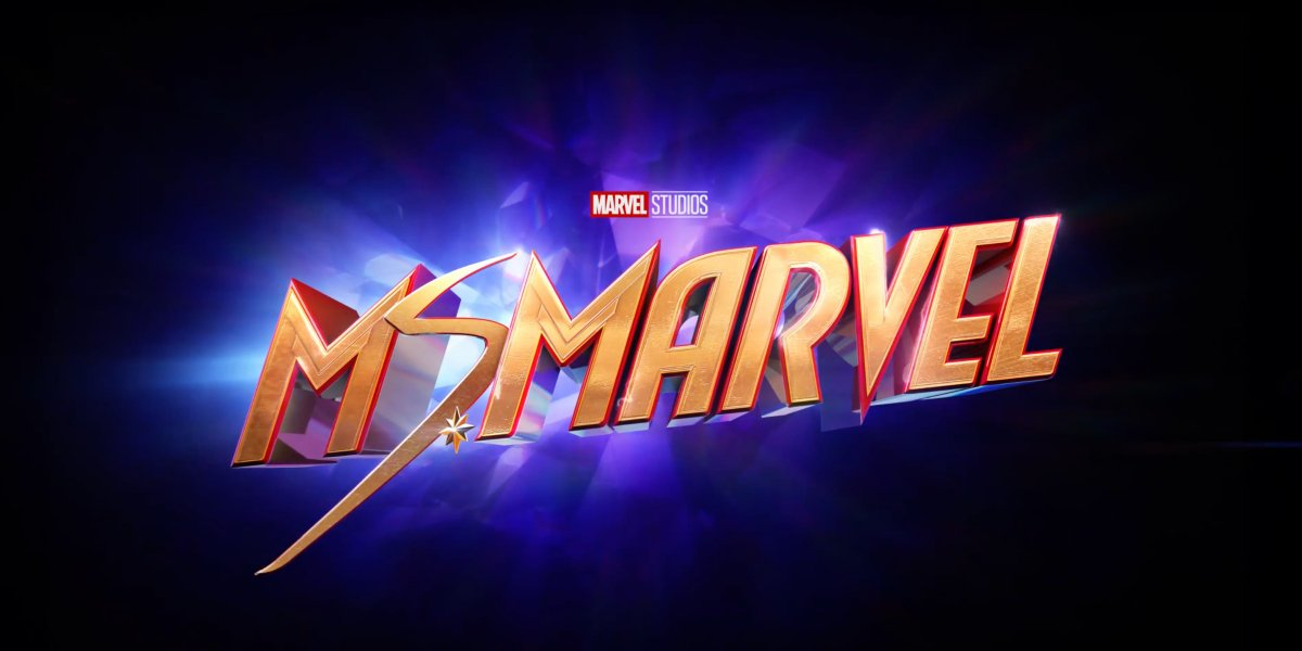 The Ms. Marvel title card