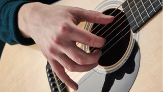 Beginner guitar: How to play fingerstyle acoustic guitar