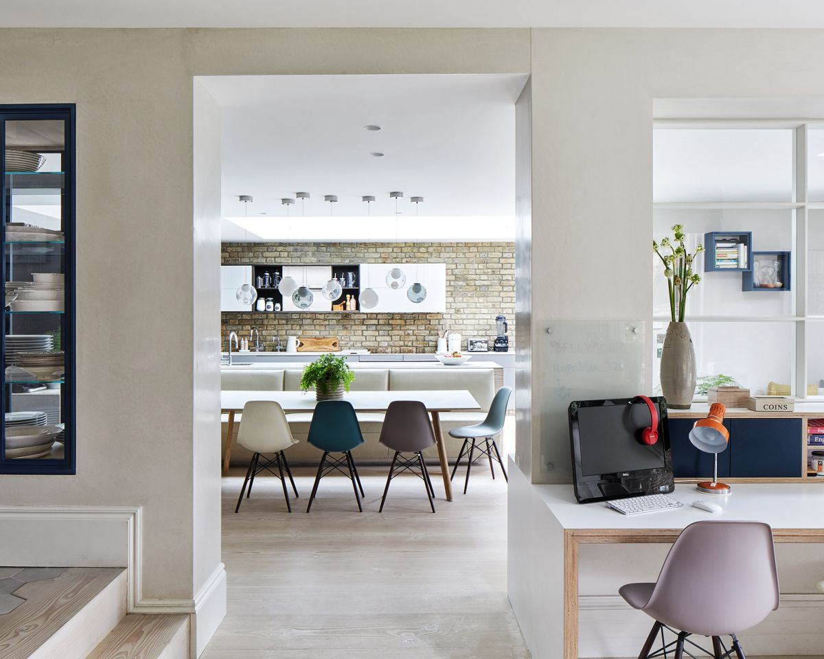 Create the perfect work from home space in your kitchen with these 5 simple steps