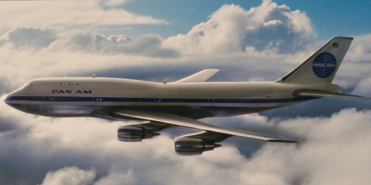 The Pan Am 747 used inaccurately in Once Upon a Time in Hollywood