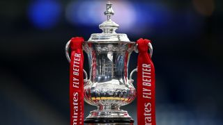 The FA Cup Final Trophy