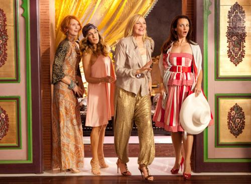 Sex and the City 2 - Miranda, Carrie, Samantha & Charlotte are stunned by the reviews for SATC2