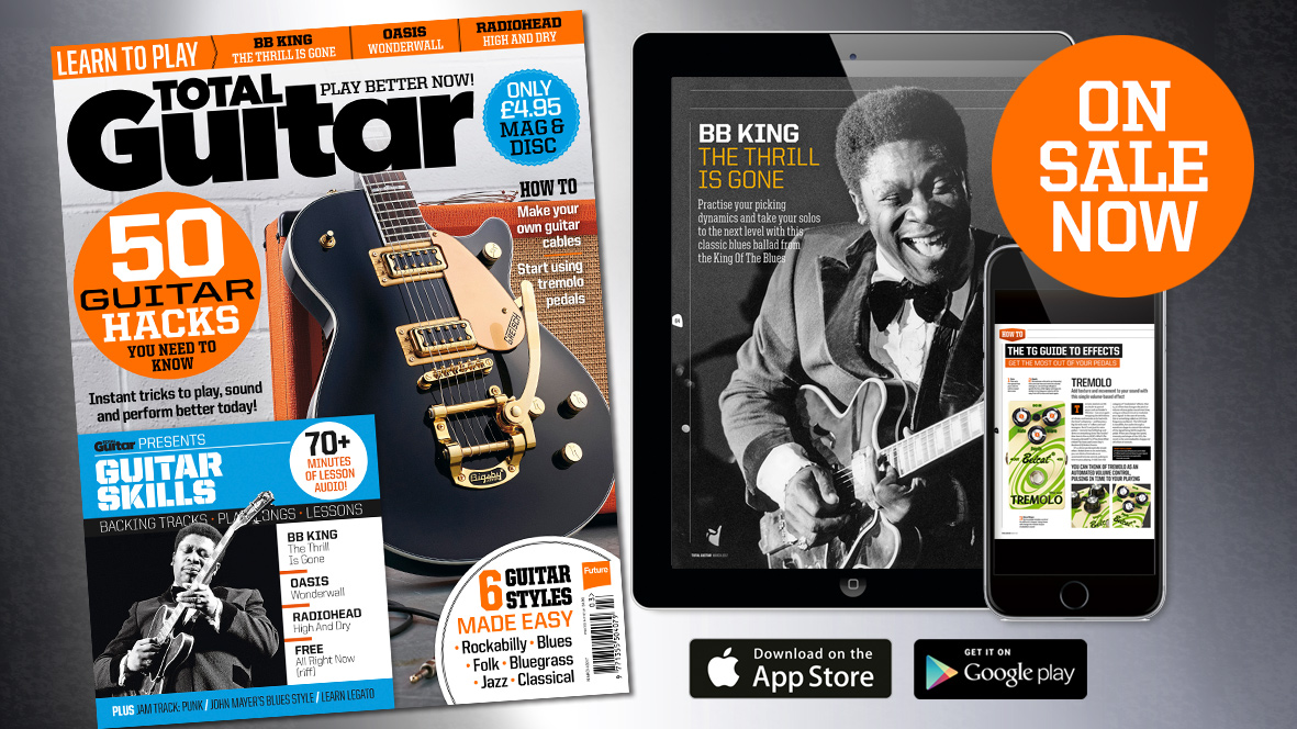 Total Guitar 290 on sale now: 50 Guitar Hacks You Need To Know