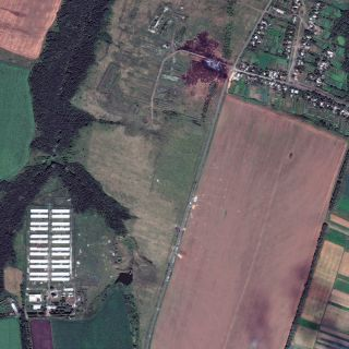 Malaysian Airlines MH17 Crash Site