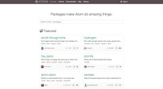 packages in Atom