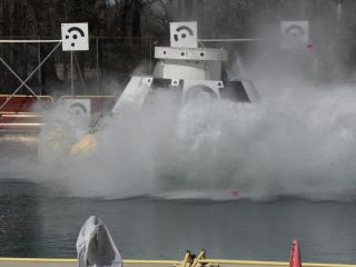 Boeing CST-100 Water Test