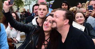David Brent, Ricky Gervais