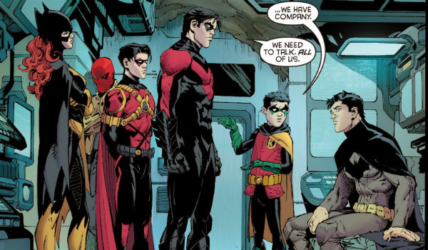 The Bat Family Batman