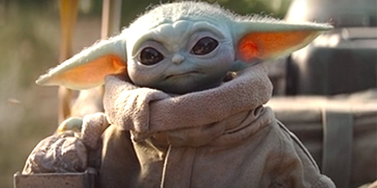 Baby Yoda in The Mandalorian Chapter 4 Disney+