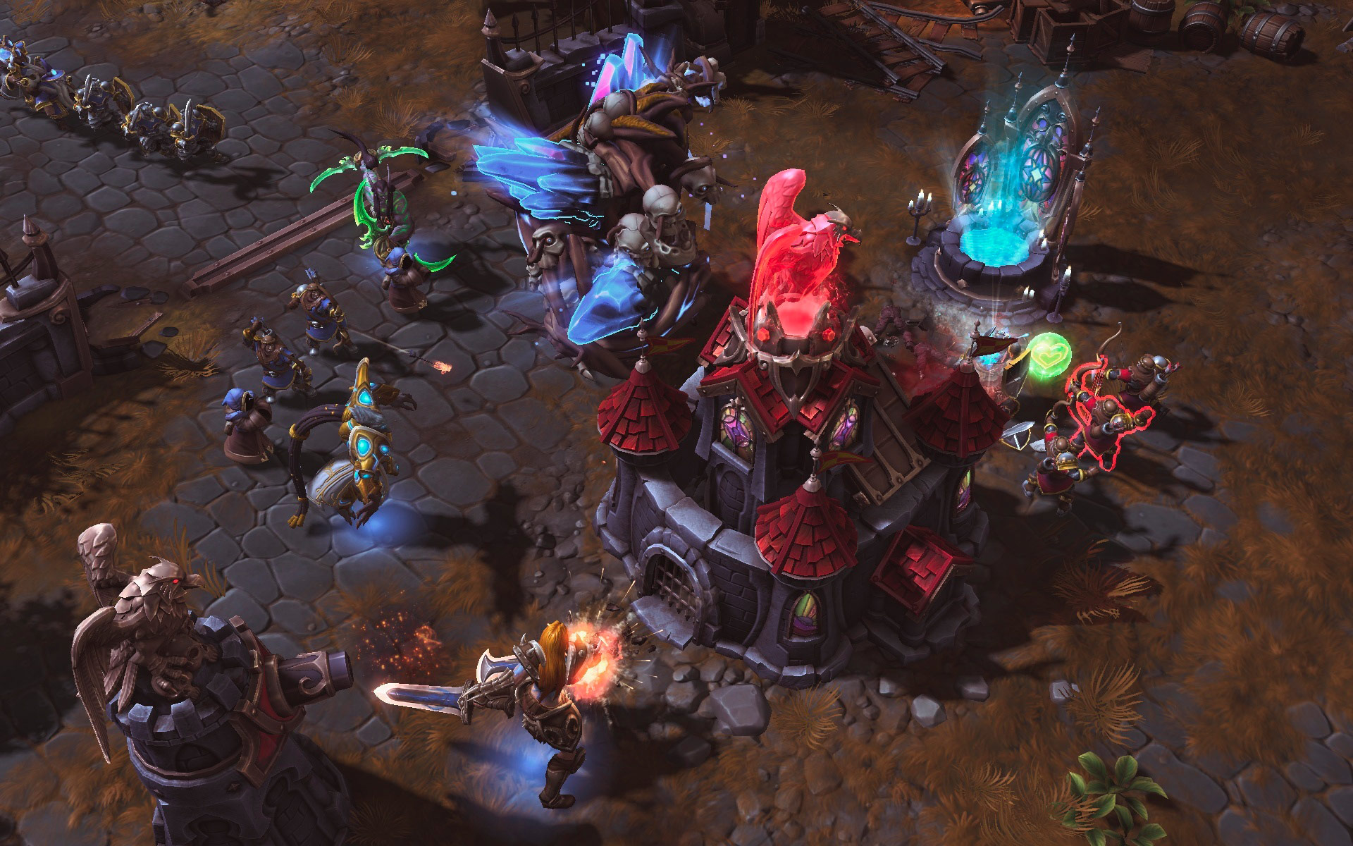 Heroes Of The Storm: Universes Collide In First Gameplay Trailer And Screenshots #29615