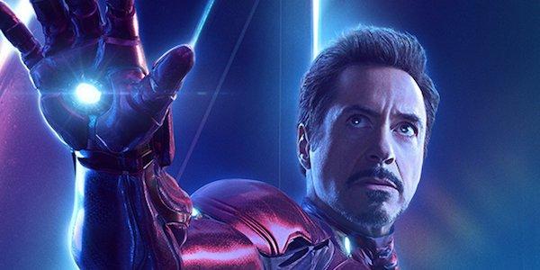 Iron Man's Infinity War poster