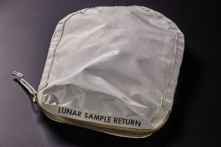 "Sotheby's will offer an Apollo 11 lunar sample return bag used on the moon, which the auction firm describes as the ""most important space artifact to ever appear at auction."""