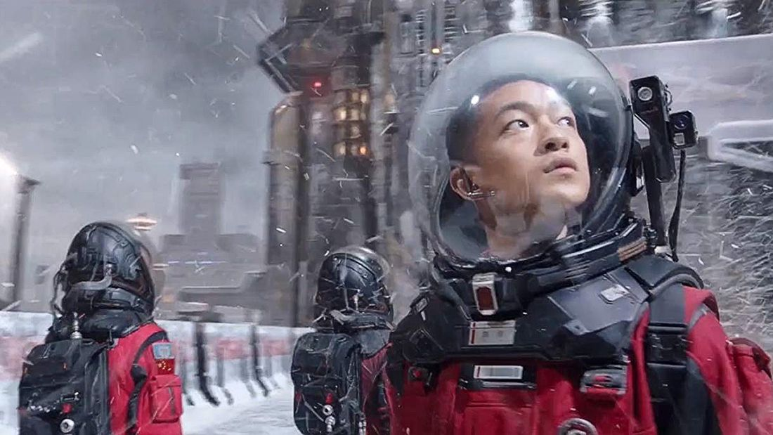 Chinese Film 'The Wandering Earth' Imagines a Journey to a New Sun | Space
