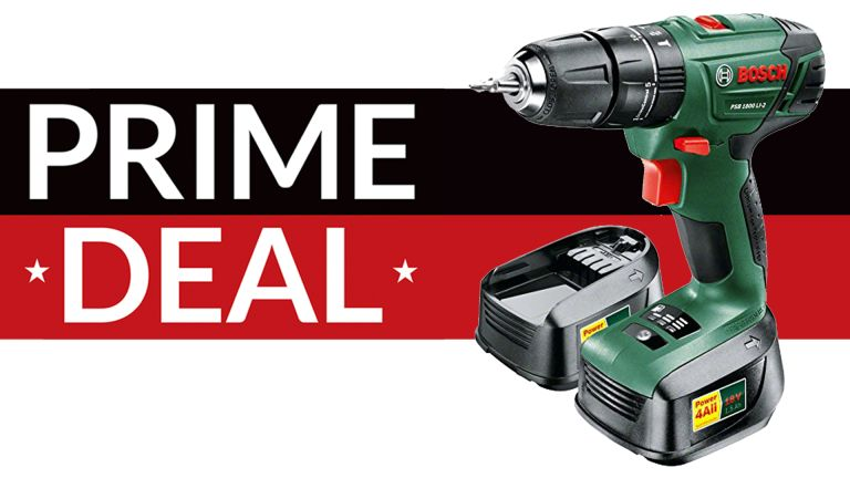 amazon prime day cheap bosch cordless drill and rotary impact driver deals