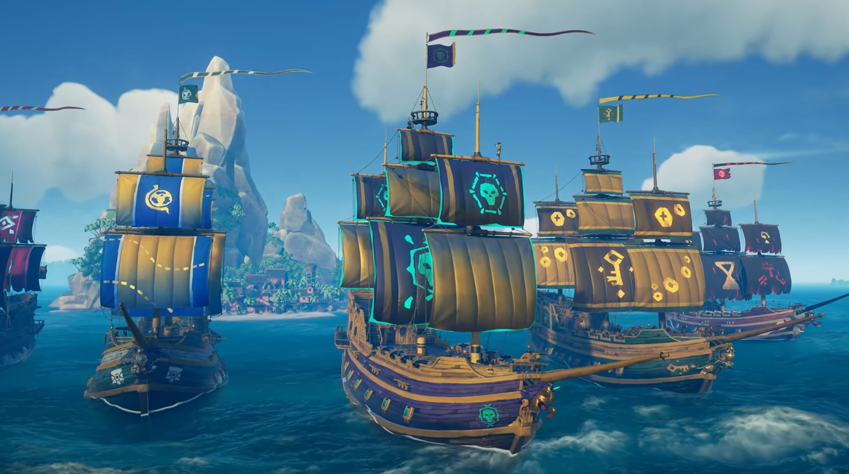 Sea of Thieves is switching to seasonal updates and a battle pass