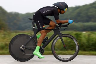 2021 UCI Road World Championships Flanders Men Elite Time Trial - Knokke - Heist Bruges 43,3 km - 19/09/2021 - Christopher Symonds (GHA) - photo Luca Bettini/BettiniPhoto©2021