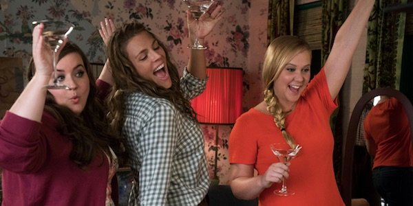 Renee with her friends in I Feel Pretty