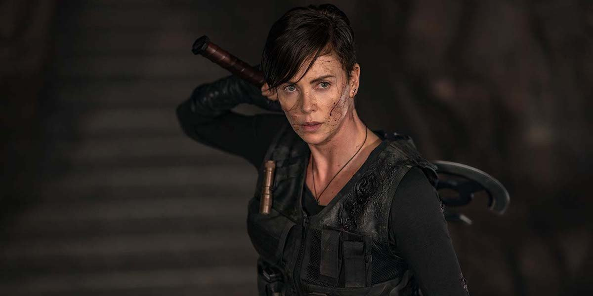 Charlize Theron in Netflix's The Old Guard