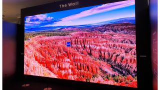 Samsung now has a 583-inch 8K version of The Wall