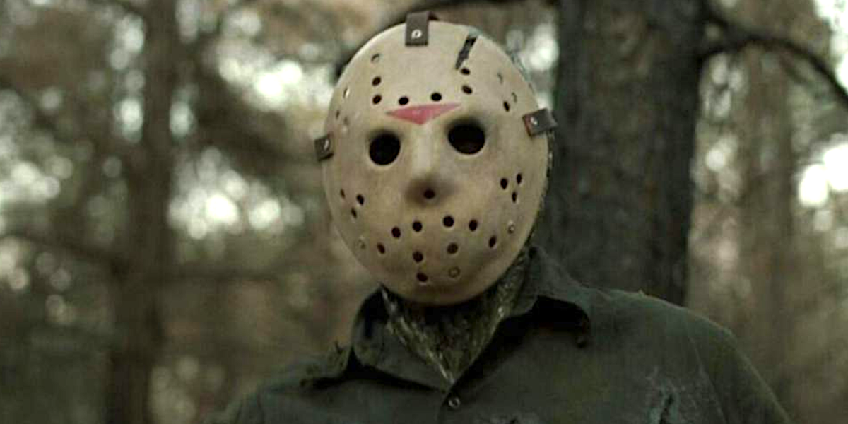 Jason from the Friday the 13th series.