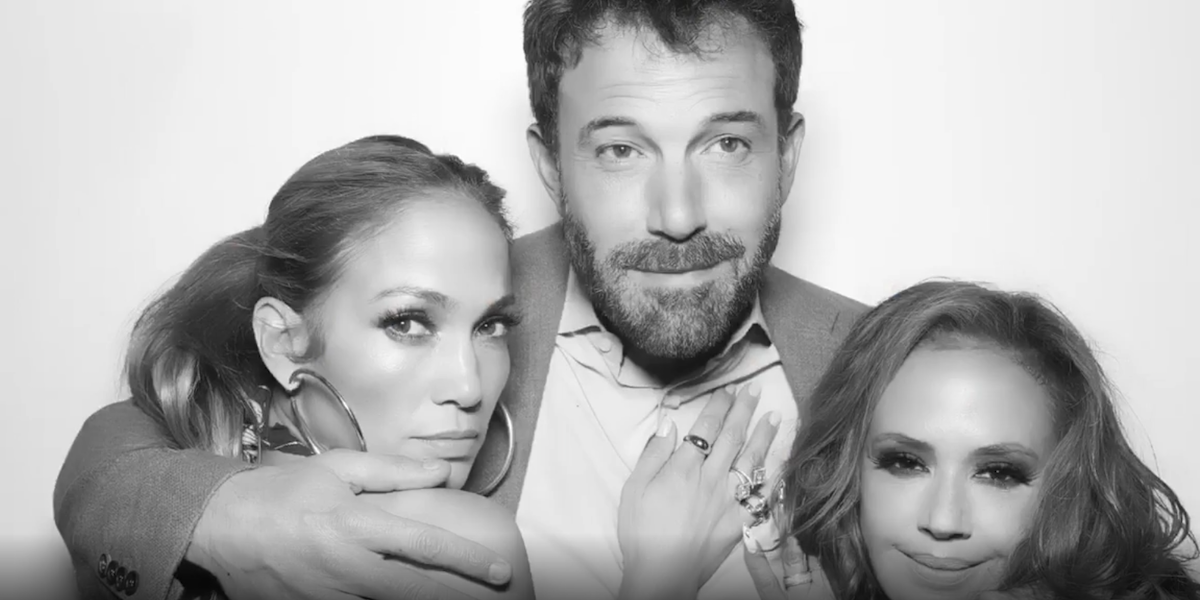 Jennifer Lopez, Ben Affleck and Leah Remini at her birthday party 2021