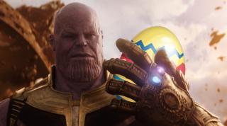 Thanos part à la chasse aux œufs