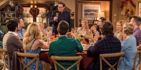 fuller house family dinner