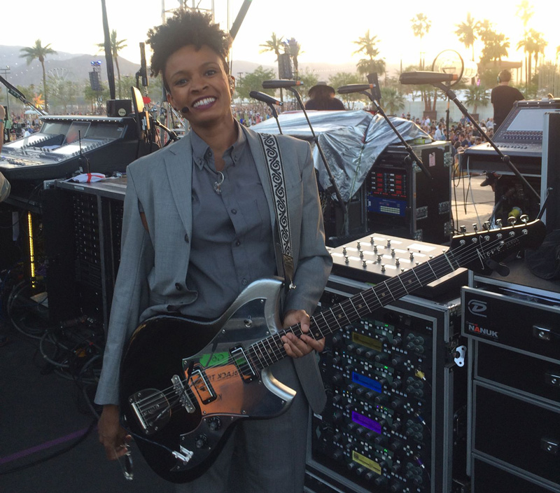 Guitarist Angie Swan Talks the Kemper Profiler and Life on the Road with David Byrne