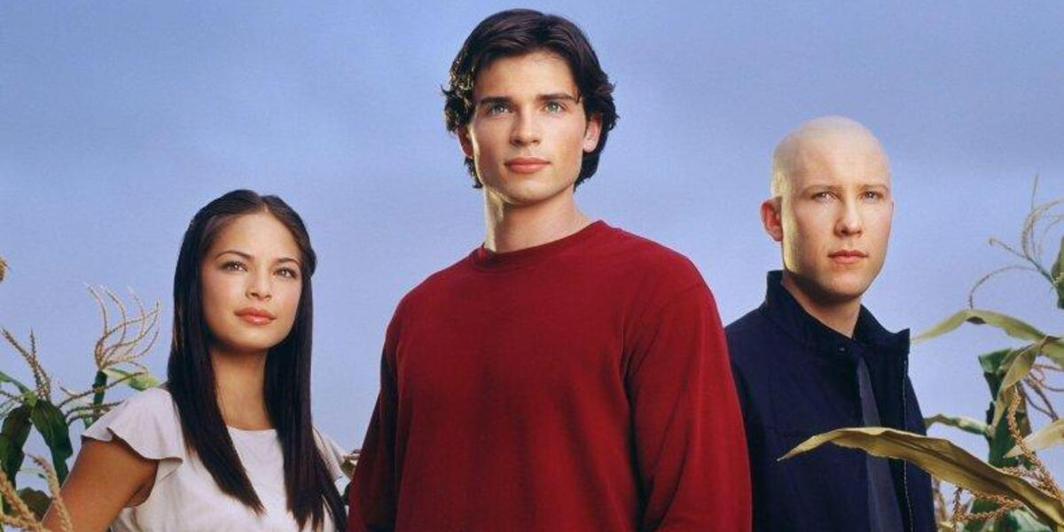 Smallville Kristin Kreuk Lana Lang Tom Welling Clark Kent Michael Rosenbaum Lex Luthor The WB