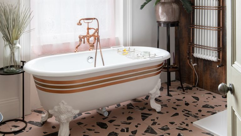 5 design tips for achieving an eclectic style in your bathroom