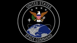 U.S. Space Command badge.